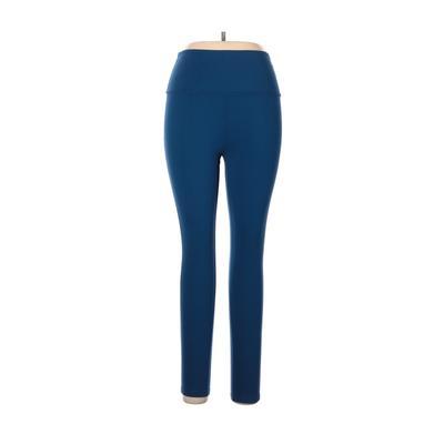 Beyond Yoga Yoga Pants - Mid/Reg Rise: Blue Activewear - Size X-Large