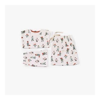 Pigeon Organics - Pyjamas In A Bag Skating Animals - 3-4 years