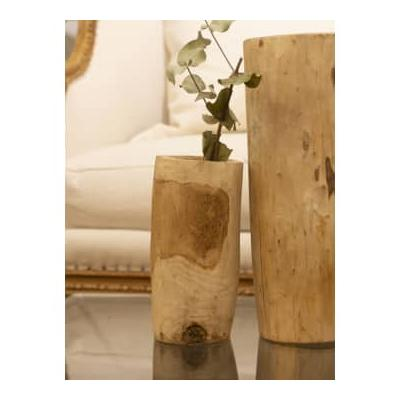 Household Hardware - Small Wooden Pot