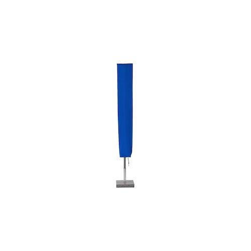 Planesium Abdeckplane für Sonnenschirm Blau 150cm x Ø 25cm Hülle Abdeckung Schutzhülle Haube Ampelschirm