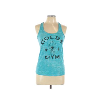 Gold's Gym Gold's Gear Active Tank Top: Blue Print Activewear - Size Large