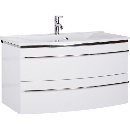 MARLIN Waschtisch, Breite 92,4 cm weiß Waschtisch Waschtische Badmöbel