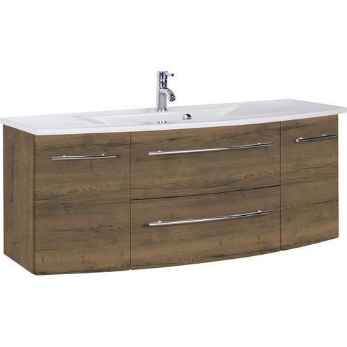MARLIN Waschtisch, Breite 121 cm braun Waschtisch Waschtische Badmöbel