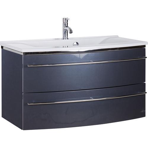 MARLIN Waschtisch, Breite 92,4 cm grau Waschtisch Waschtische Badmöbel