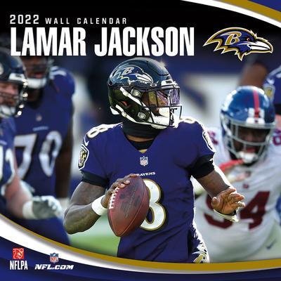 Lamar Jackson Baltimore Ravens 2022 Player Wall Calendar