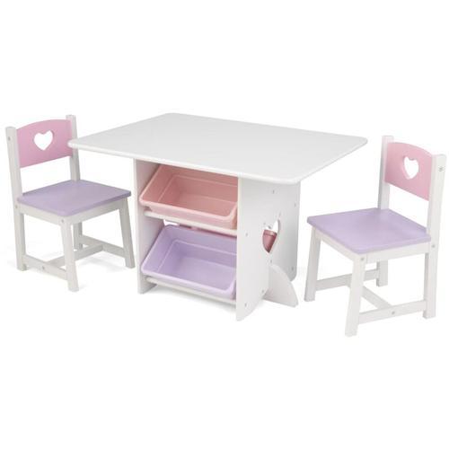 Tisch mit 2 Stühlen Set Herz - Kidkraft