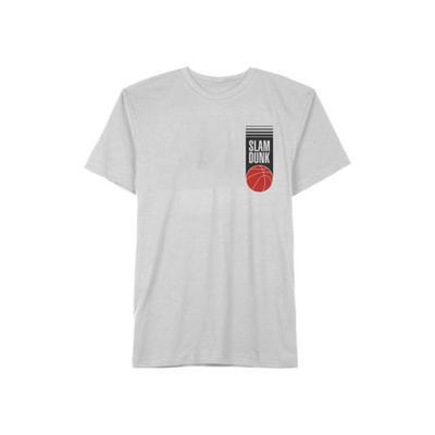 Space Jam White 1 Junior's Space Jam Slam Dunk Graphic T-Shirt