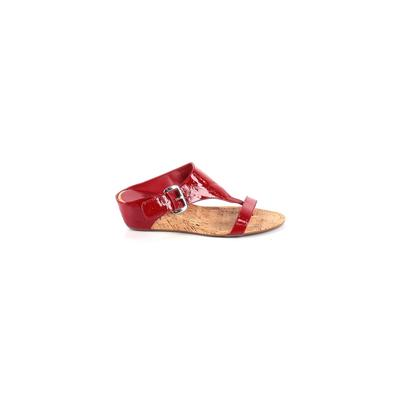 Impo Wedges: Red Solid Shoes - Size 9 1/2