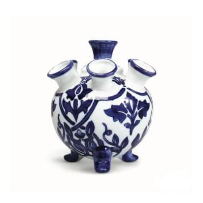 &klevering - Blue Porcelain Tulip Vase