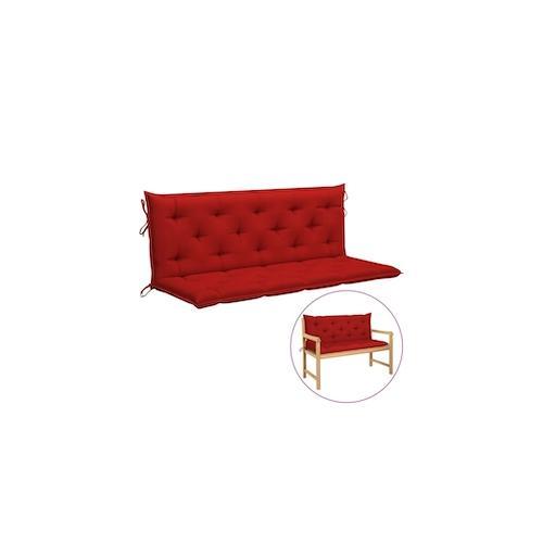 vidaXL Auflage für Hollywoodschaukel Rot 150 cm Stoff