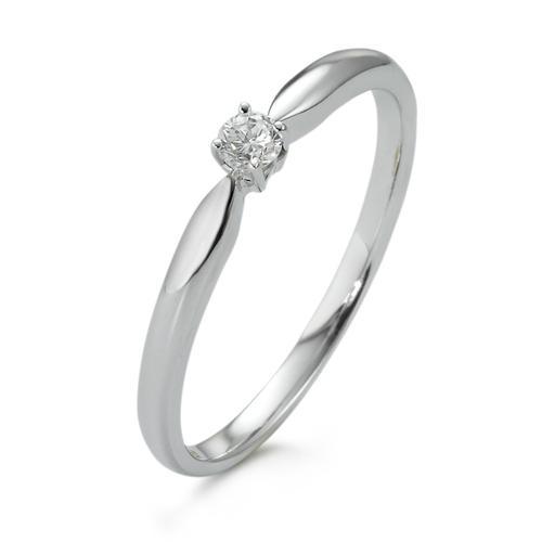 Solitär-Ring Gold 750 Diamant