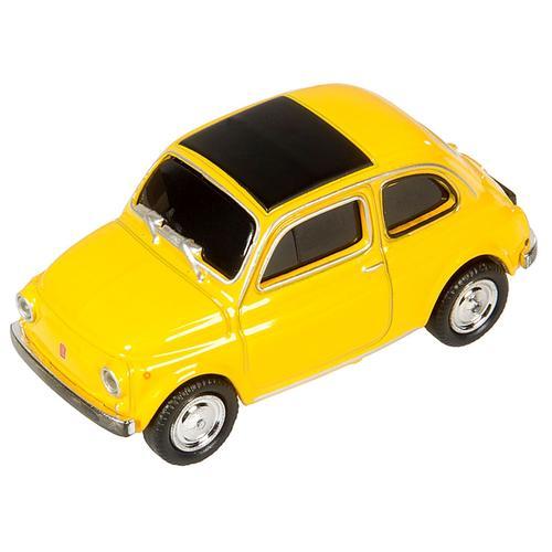 GENIE USB-Stick 32G »Fiat 500 Oldtimer«, gelb