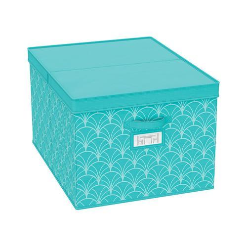 Livarno Home Aufbewahrungsbox/Schubladenaufbewahrung (türkis, Aufbewahrungsbox 2er Set)