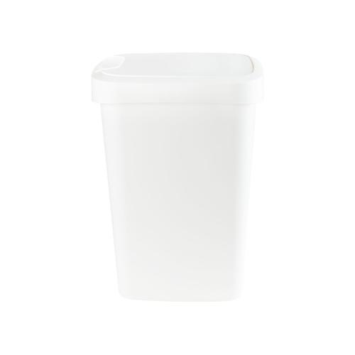 Abfalleimer Schwingdeckel 25L (weiß)