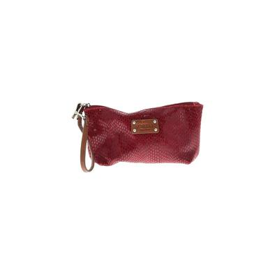 Sorial Wristlet: Red Solid Bags