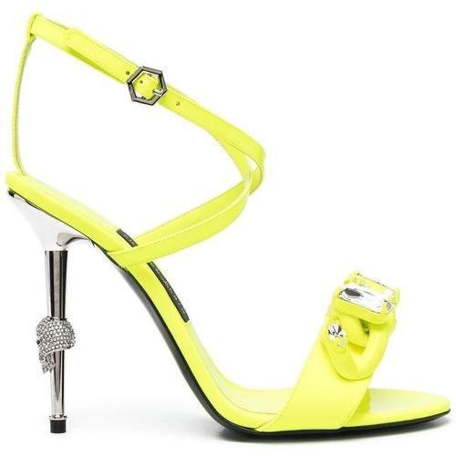 Philipp Plein Stiletto-Sandalen mit Kristallen