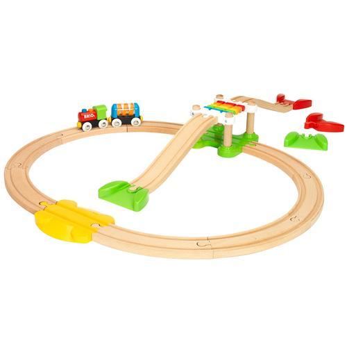 BRIO Eisenbahnset »33727«, 18-teilig, für Einsteiger, ab 18 Monaten