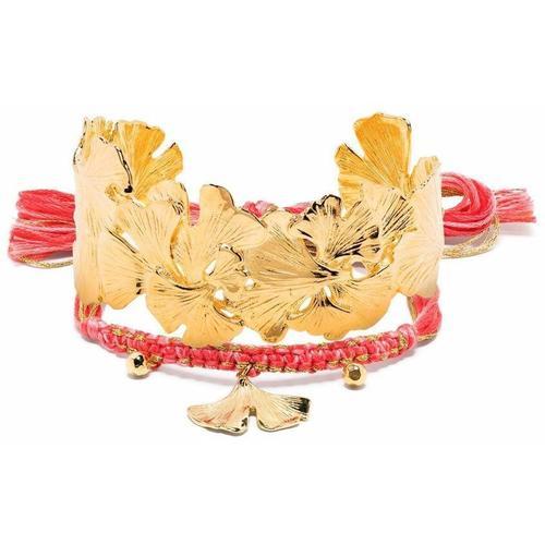 Aurelie Bidermann Ginkgo Armband-Set