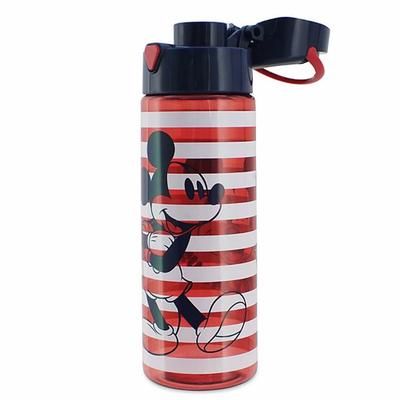Disney Dining | Mickey Mouse Water Bottle Tumbler, Nwt | Color: Blue/Red | Size: Os