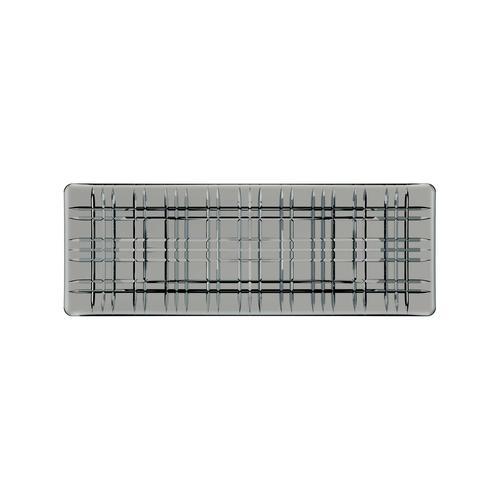 Nachtmann Square Geschirr Platte 42 cm smoke rechteckig