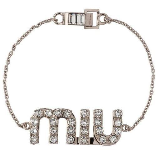 Miu Miu Armband mit Kristallen