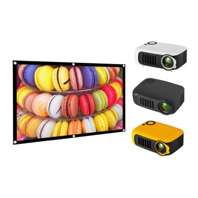 A2000 Mini Home LCD Projector: S...