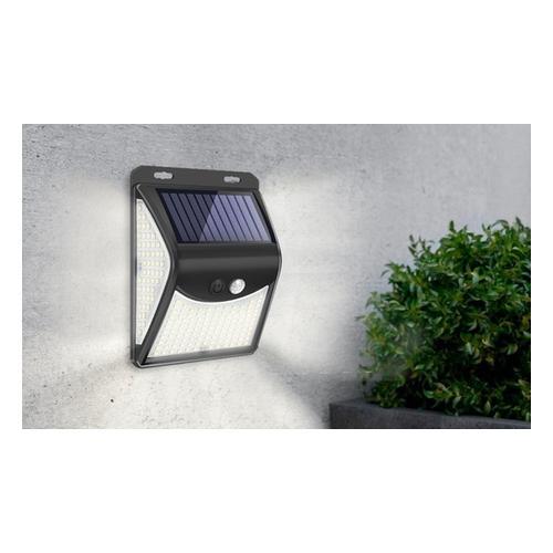 Solar-Lampe: Solar-Lampe mit 222 LEDs/ 1