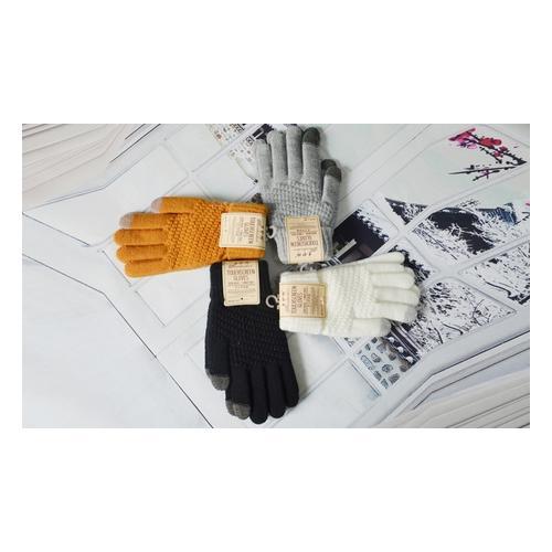 Touchscreen-Handschuhe: Gelb / 1 Paar
