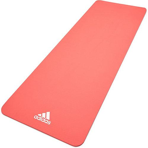Adidas Fitness- und Yogamatte, 8mm, Pink pink
