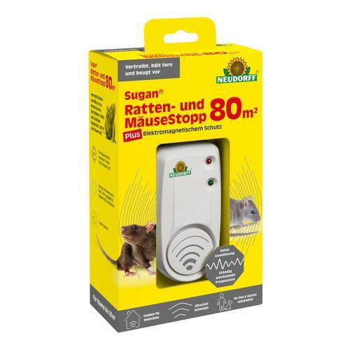 Neudorff Sugan Ratten- und Mäuse Stopp 80qm