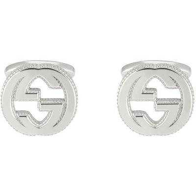 Gucci GG Manschettenknöpfe aus Silber