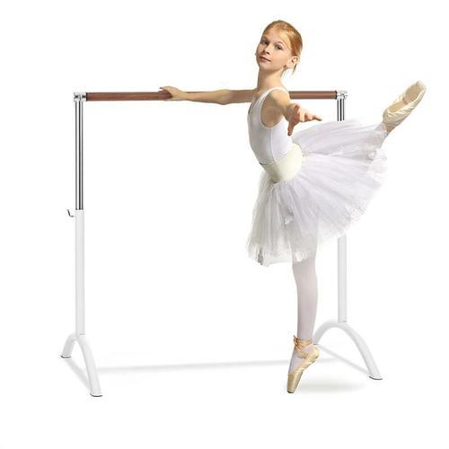 Bar Lerina Ballettstange, freistehend, 110 x 113 cm 38mm Ø weiß