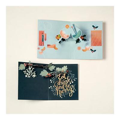 Holiday Spirit Pop-Up Greeting Cards