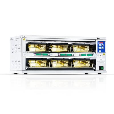 """Prince Castle DHB2PT-27B 27.5""""W Freestanding Warming Drawer w/ (2) 18"""" Compartments, 120v"""