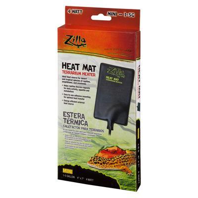 Zilla Heat Mat Terrarium Heater, Mini