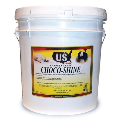Gold Medal 5519 35 lb Pail Chocolate Dip Coating for Doughnuts & Pastries