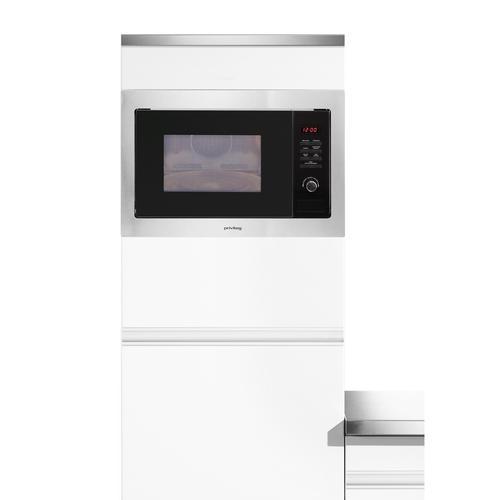 Privileg Einbau-Mikrowelle AC 925 BVE, Mikrowelle, 900 W silberfarben Mikrowelle SOFORT LIEFERBARE Haushaltsgeräte