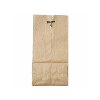 """""""Gen 4# Brown Kraft Paper Bags, Standard Grade, 500 Bags (Bag Gk4-500)"""""""