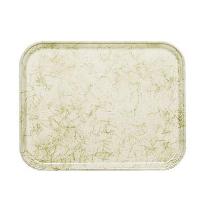 "Cambro 2025526 Fiberglass Camtray? Cafeteria Tray - 25 9/16""L x 20 3/4""W, Galaxy Antique Parchment Gold"