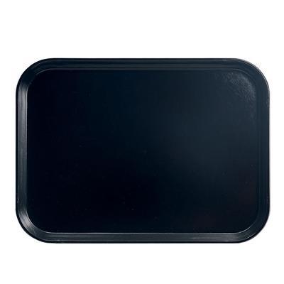 Cambro 57110 Fiberglass Camtray? Cafeteria Tray – 6 9/10″L x 4 9/10″W, Black