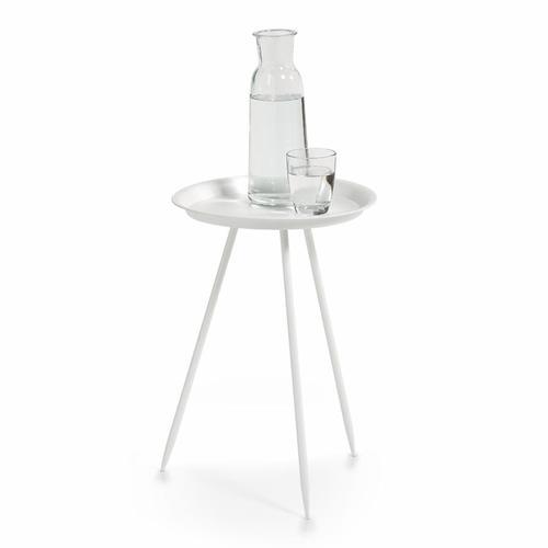 Zeller Present Beistelltisch, rund, Metall schwarz Beistelltische Tische Beistelltisch
