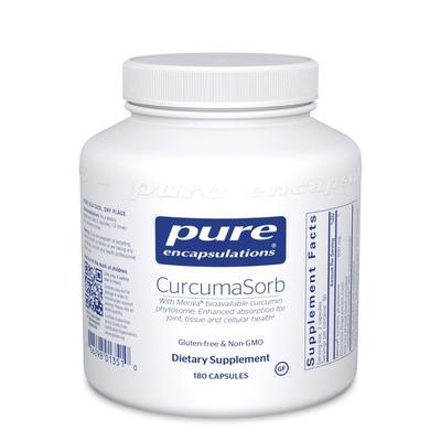 Pure Encapsulations Allergy Relief - CurcumaSorb - 180 Capsules