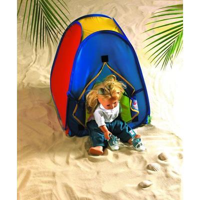 Heless Puppen Zelt Pop Up bunt Kinder Ab 3-5 Jahren Altersempfehlung