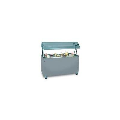 Vollrath 38765 Affordable Portable Cherry Utility Station, Buffet Breath Guard, 120 V
