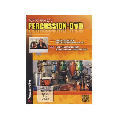 Voggenreiter Pitti Hecht's Percussion-DVD
