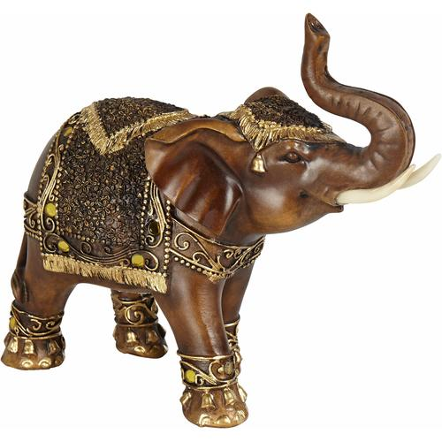 Tierfigur Tishya braun Tierfiguren Figuren Skulpturen Wohnaccessoires