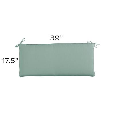 Replacement Bench Cushion - 39x17.5 Canvas Rust Sunbrella - Ballard Designs