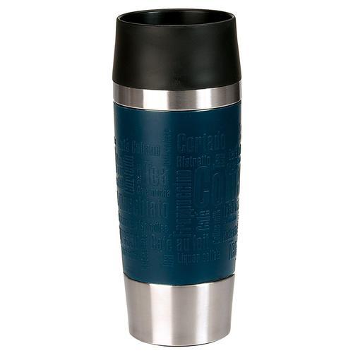 Emsa Thermobecher Travel Mug, (1 tlg.) blau und Coffee to go Geschirr, Porzellan Tischaccessoires Haushaltswaren