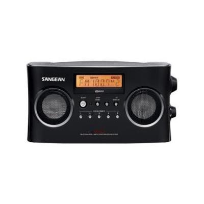 Sangean PR-D5 FM-Stereo RBDS / AM Digital Tuning Portable Radio Receiver - Black