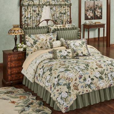 Garden Images III Comforter Set Parchment, King, Parchment